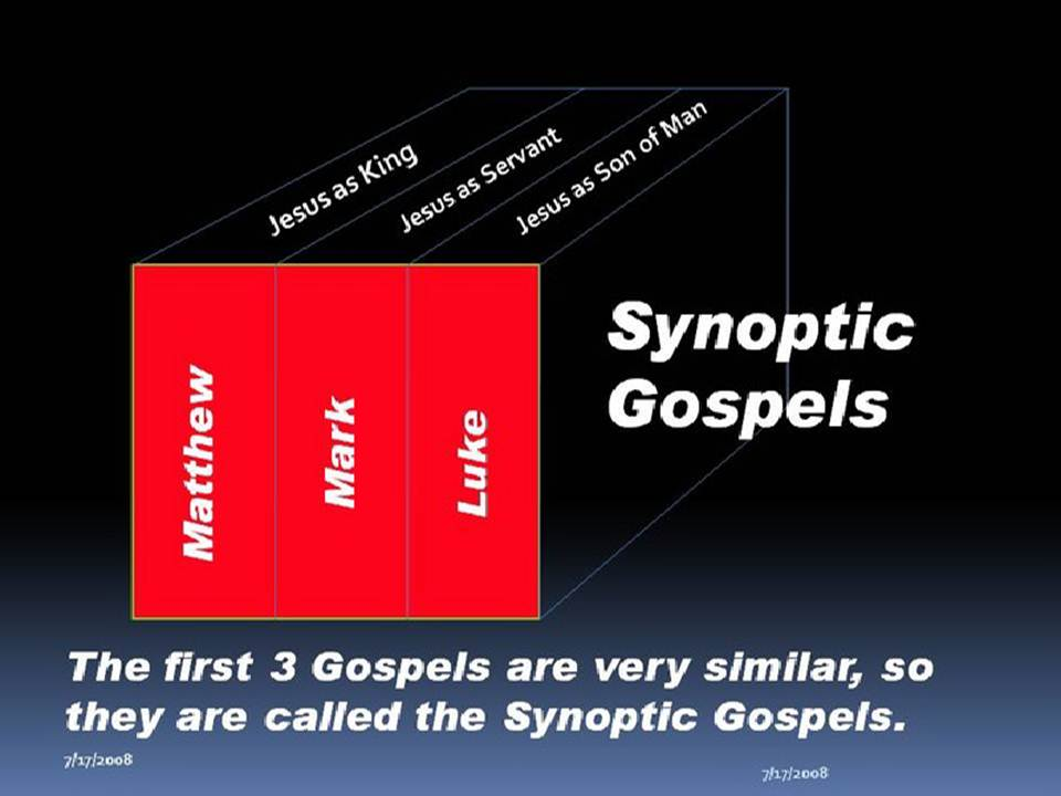 an analysis of the gospels of the new testament In this article social sciences and the new testament gospels , epistles, and and social dimensions—each of which contributes to a proper analysis and.